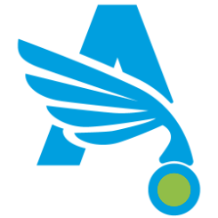 angel dry cleaning logo