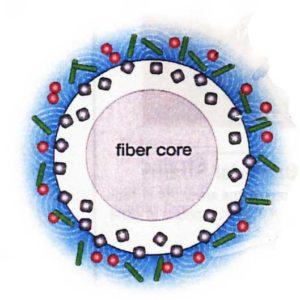 diagram of carpet fiber