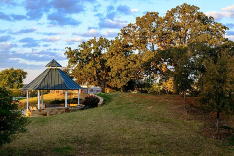 city of southlake gazebo in park